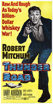 Fid Photograph - Thunder Road, Us Poster Art, Robert by Everett