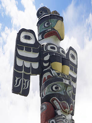Photograph - Thunderbid Totem by Brenda Kean