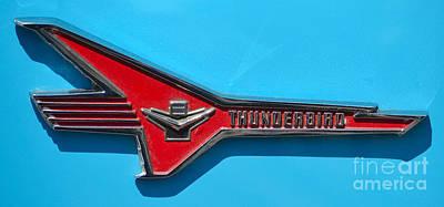 Photograph - Thunderbird Badge by Mark Spearman