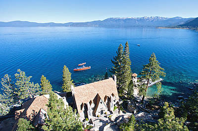 Photograph - Thunderbird Lodge Lake Tahoe by Steven Lapkin