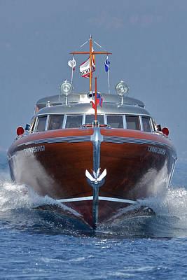Thunderbird Yacht Art Print by Steven Lapkin