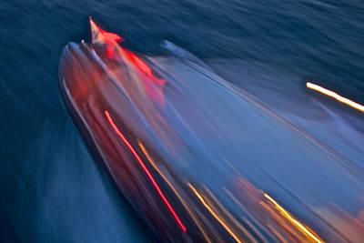 Photograph - Thunderbird Streaming by Steven Lapkin