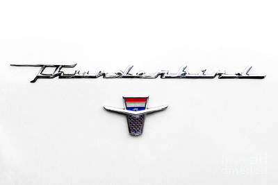 Thunderbird Tag Art Print by Jerry Fornarotto