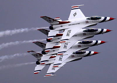 Photograph - Thunderbirds At Salinas Air Show by John King