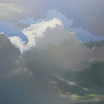 Painting - Thunderhead 2 Sold by Cap Pannell