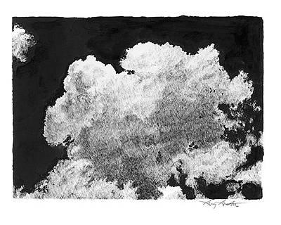 Thunderhead Drawing - Thunderhead by Gary Gackstatter