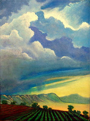 Thunderhead Art Print by Jim Whalen