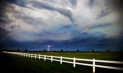 Photograph - Thunderhead Lightning 2008 by Eric Benjamin