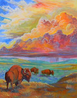 Painting - Thunderheads by Jenn Cunningham