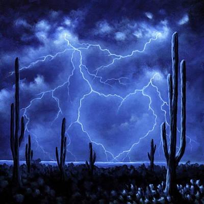 Painting - Thunderheart by Ric Nagualero