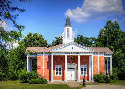Thurmond Wall Art - Photograph - Thurmond Chapel by Cricket Hackmann