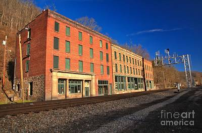 Thurmond Wall Art - Photograph - Thurmond Wv Remnants by Adam Jewell