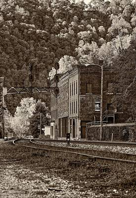 Thurmond Wall Art - Photograph - Thurmond Wv Sepia by Steve Harrington
