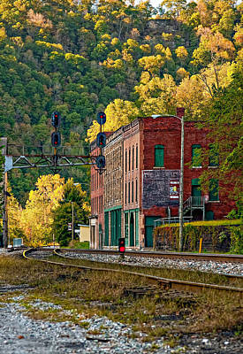 Thurmond Wall Art - Photograph - Thurmond Wv by Steve Harrington