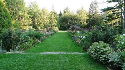 Photograph - Thuya Gardens In Northeast Harbor Maine by Charlayne Grenci