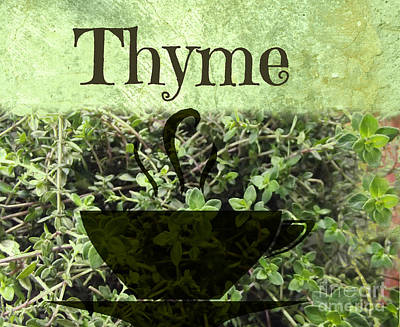 Photograph - Thyme by Mindy Bench