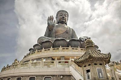 Tian Tan Buddha Art Print by David Gn