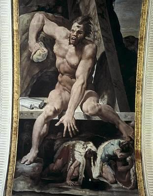 Cyclops Photograph - Tibaldi, Pellegrino 1527-1596. Escaping by Everett