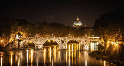 Lady Bug - Tiber River Rome Italy by Timothy Denehy