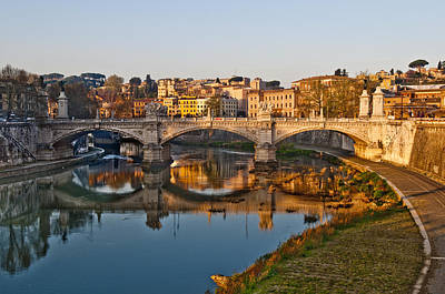 Photograph - Tiber Sunrise by Mick House