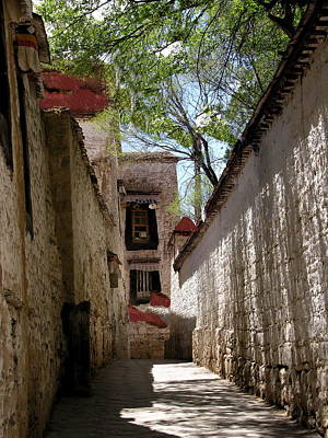 Photograph - Tibet - Sera Monastery by Jacqueline M Lewis
