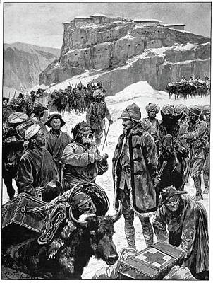 Tibet 1904 Mission Art Print by Granger