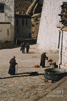Photograph - Tibet 2x2x2 By Jrr by First Star Art