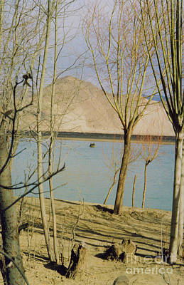 Photograph - Tibet Lake Burial by First Star Art