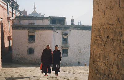Photograph - Tibet Monks 6 by First Star Art