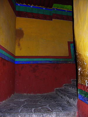 Photograph - Tibet - Potala Palace - Lhasa - Ascent To Dali Lama Chambers by Jacqueline M Lewis