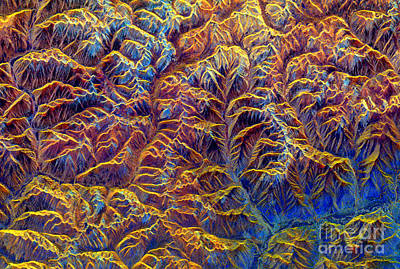 Aperture Photograph - Tibetan Mountains, Sir-cx-sar Image by Science Source