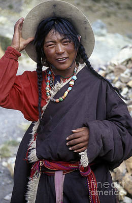 Photograph - Tibetan Pilgrim - Mt Kailash  by Craig Lovell