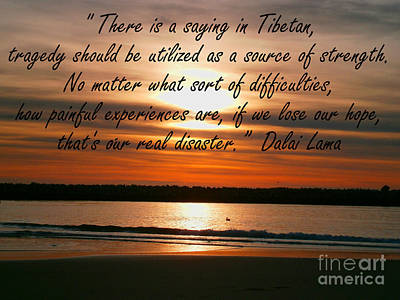 Photograph - Tibetan Saying by Drew Shourd