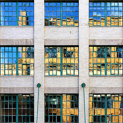 Photograph - Tic-Tac-Toe New York City Architecture by Vlad Bubnov