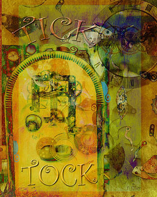 Digital Art - Tick Tock by Fran Riley