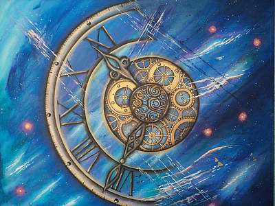 Painting - Tick Tock by Krystyna Spink