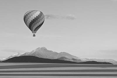 Photograph - Ticket To Paradise Bw by James BO Insogna