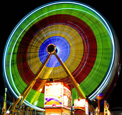 Florida State Fair Photograph - Tickets To Fun by David Lee Thompson