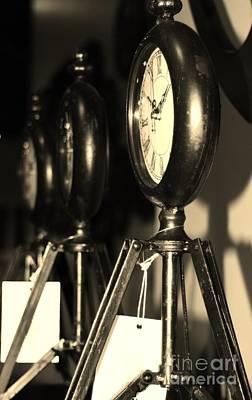 Photograph - Ticking Away by Barbara Bardzik
