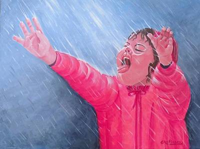 Painting - Tickles From God by Carol Allen Anfinsen