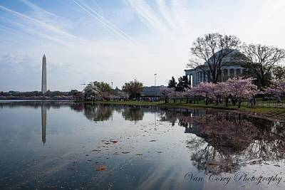 Photograph - Tidal Basin Morning by Van Corey