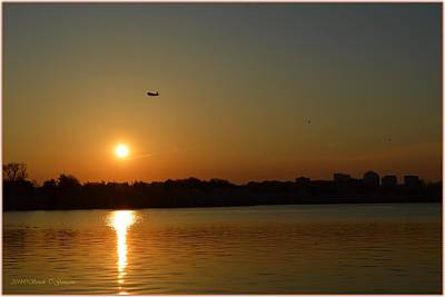 Time Code Photograph - Tidal Basin Sunset by Sonali Gangane