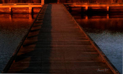 Photograph - Tidal Boardwalk by Amanda Holmes Tzafrir