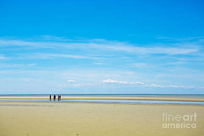 Cape Cod Bay Photograph - Tidal Flats Of Cape Cod by Diane Diederich