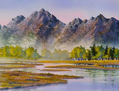 Tidal Flats Art Print by Teresa Ascone