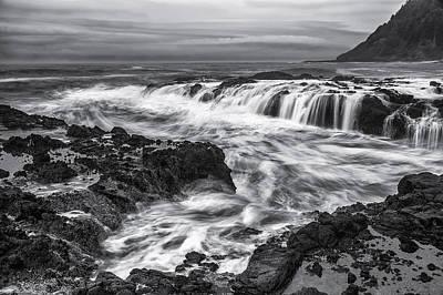 Acrylic Photograph - Tidal Flows by Jon Glaser