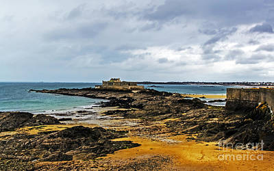 Photograph - Tidal Island Fort by Elvis Vaughn