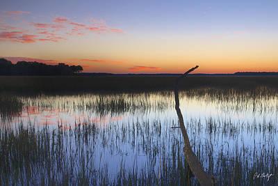 Coastline Digital Art - Tidal Marsh by Phill Doherty