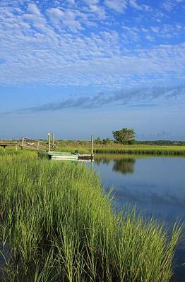 Tidal Marsh Wrightsville Beach Art Print by Mountains to the Sea Photo