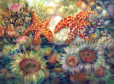 Painting - Tidal Pool II by Ann  Nicholson